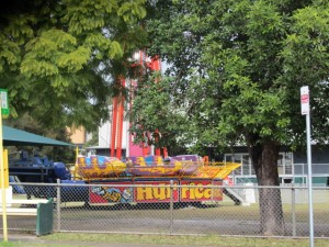 West End State School Fair rides.