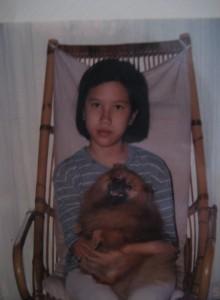 Estella aged 12.