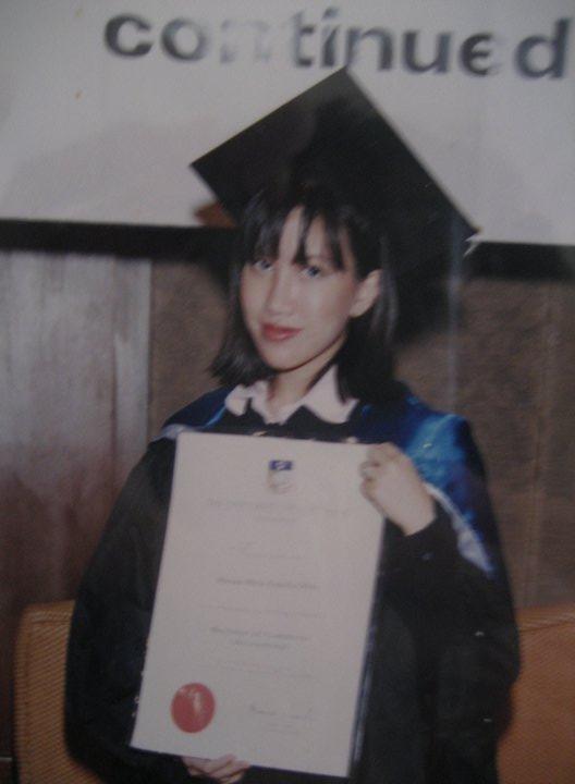 Estella aged 21.