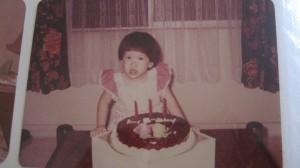 Estella aged 3.