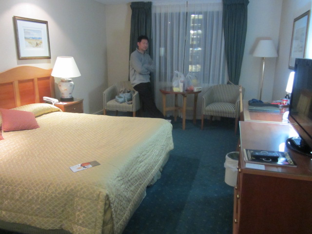 Our Room at the Millenium Hotel, Queenstown.