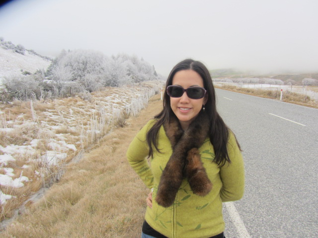 A picture of me just outside Cardrona in New Zealand.