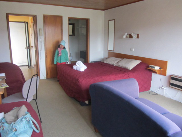 A picture of our family room at The Brookvale Motel in Wanaka, New Zealand.