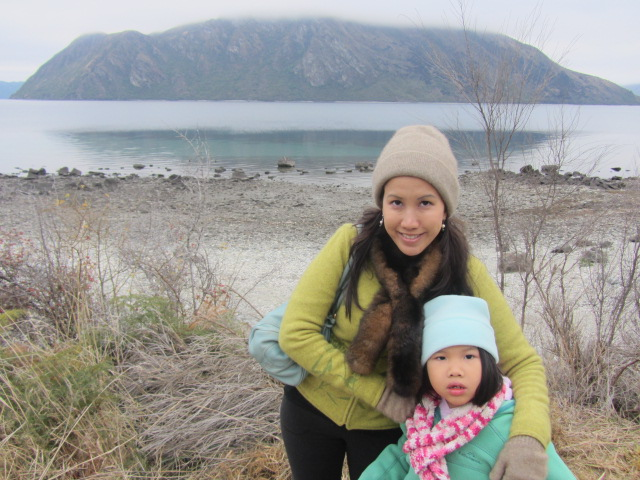 A picture of Amanda and I by Lake Wanaka in New Zealand.