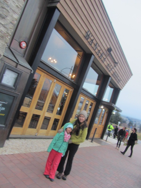 A picture of me and Amanda outside the pub we went to for my birthday dinner in Wanaka, New Zealand.