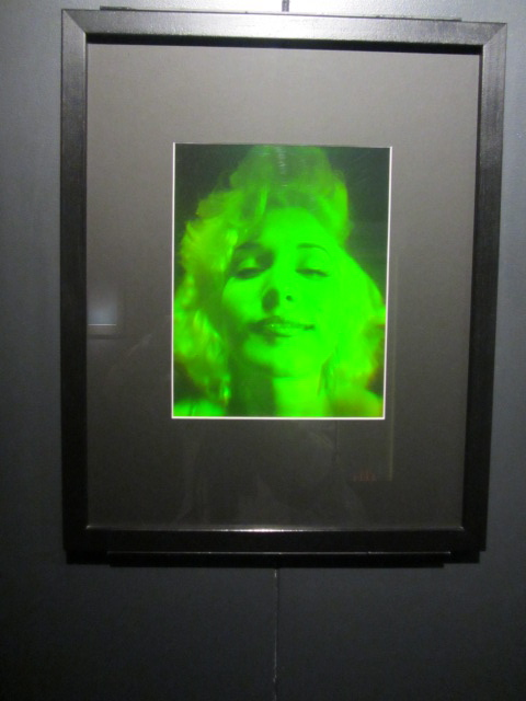 A picture of a holograph at Puzzling World in Wanaka, New Zealand.