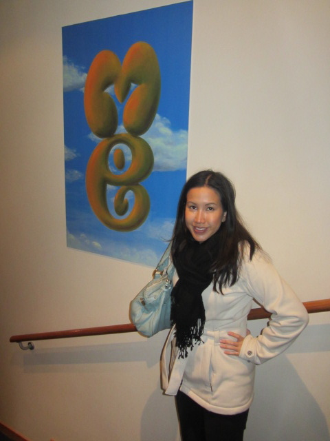 A picture of me at Puzzling World in Wanaka, New Zealand.
