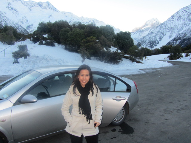 A picture of me on Mt Cook in New Zealand.