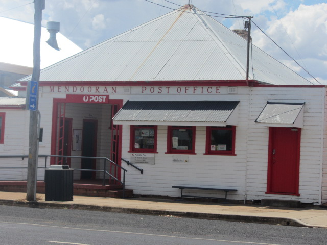 The Mendooran post office in country New South Wales.