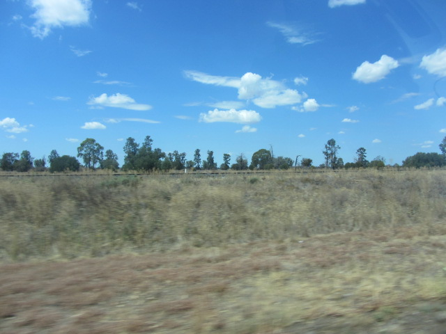 The landscape after Dubbo, towards Broken Hill in New South Wales.