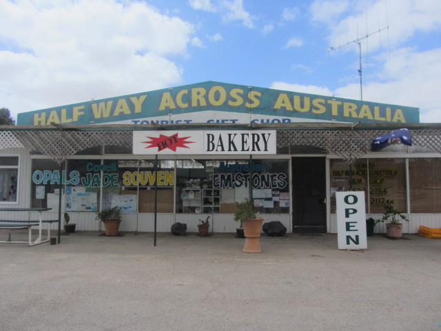 A picture of a shop between Port Augusta, South Australia, and Ceduna