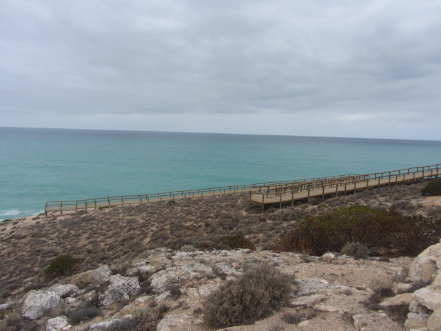A picture of The Great Australian Bight.
