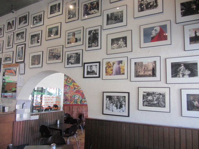 A picture of the all at Gino's in Fremantle, Perth.
