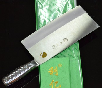 A picture of a Chinese meat cleaver.