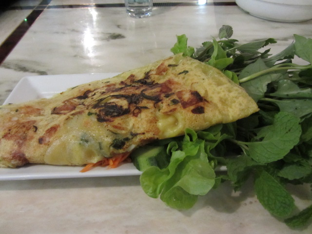 A picture of Banh Xeo from Pho Hoang Gia in Fortitude Valley.