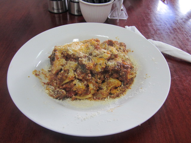 A picture of Vegetarian Lasagne at Pasta Al Dente in South Brisbane.