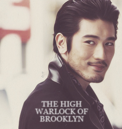 A picture of Godfrey Gao.