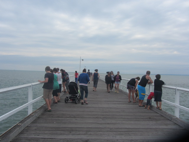 A picture of the Urangan Pier at Hervey Bay, Queensland.